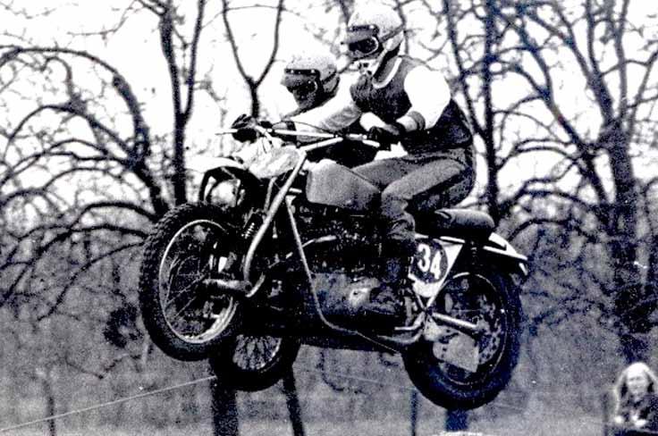 Eén van Godschalks allereerste wedstrijden was met Frans Polman in Gendt, in 1972.