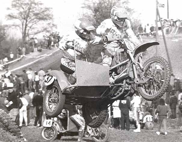 Met Luc Descheemaeker won Godschalk bijna de Duitse GP in Bilstein in 1987.