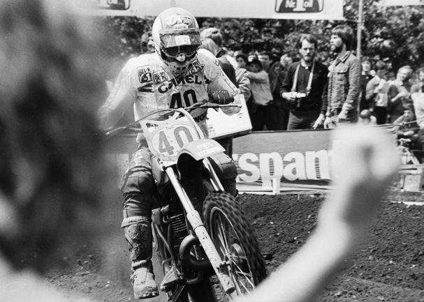 Gerrit Wolsink had altijd een grote schare fans.