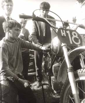 Als echte techneut hadden de motoren geen geheimen voor Henk Knuiman.