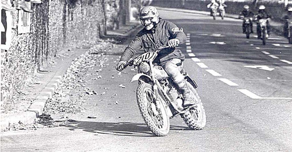 In de beginjaren zeventig werd de zesdaagse altijd nog afgesloten met een slotrace in plaats van een slotcross.