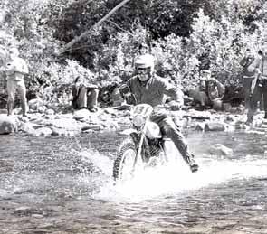 1973 Dalton USA zesdaagse op de Monark van plaatsgenoot Derk de Vos.