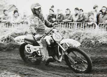 In '81 reed Poppinga met Yamaha, maar dat werd geen gelukkig huwelijk.