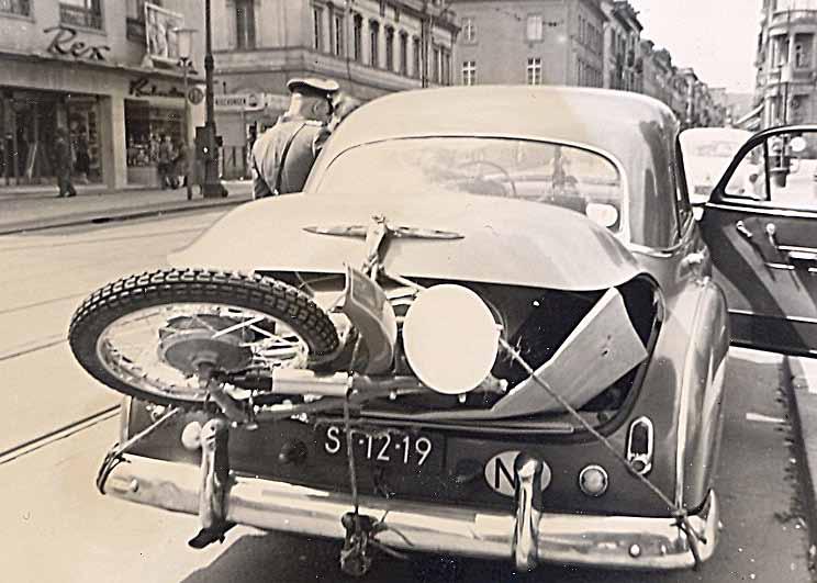 Motorvervoer anno 1955...