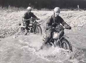 In 1963 zat Boom in het DKW-enduroteam van importeur Hart Nibbrig & Greeve.