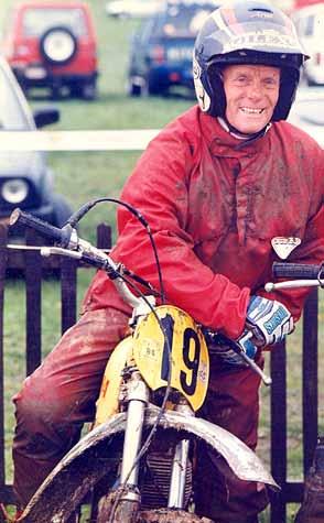 Rudi Boom als Pre 65 classic-cross deelnemer in 1993, alweer bijna 20 jaar geleden.